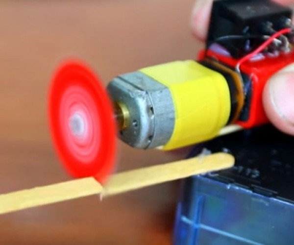 Make a Mini Rotary Tool from a Bottle Cap