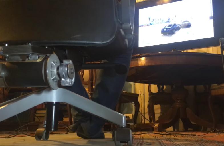 DIY Rumble Chair: DerriereShock