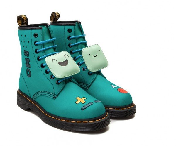 Dr. Martens Adventure Time BMO & Princess Bubblegum Boots: This Does Compute!