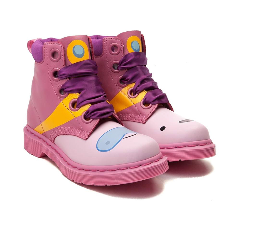 Dr. Martens Adventure Time BMO & Princess Bubblegum Boots ...