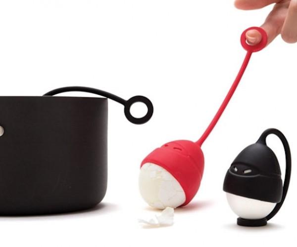 Egg Ninjas: Make Hard Boiled Eggs The Ninja Way