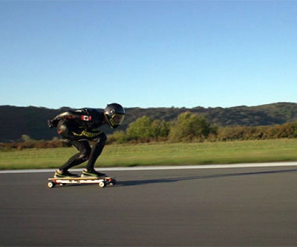 World's Fastest Electric Skateboard Goes Nearly 60 mph