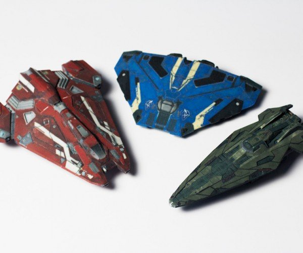 Trade Real Money for Real Elite: Dangerous Ship Scale Models