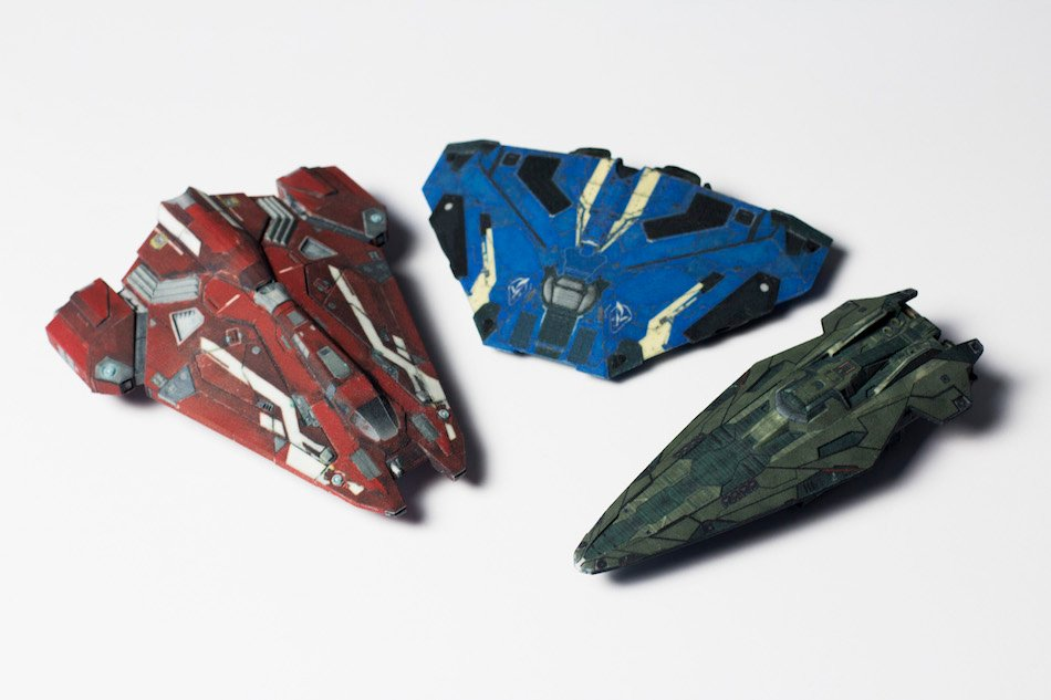 Trade Real Money For Real Elite Dangerous Ship Scale Models