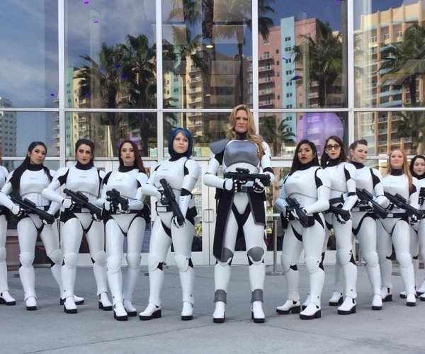 Fem7 Stormtrooper-inspired Female Costume: Let's Get in Formation