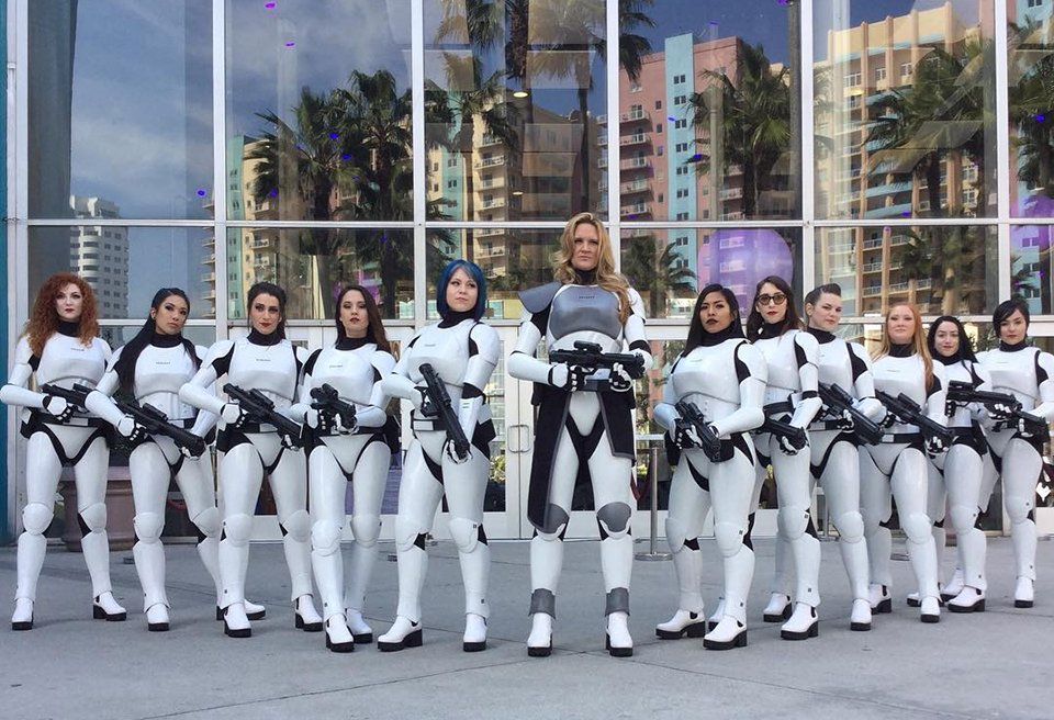 Fem7 Stormtrooper-inspired Female Costume: Let's Get in Formation - Technabob