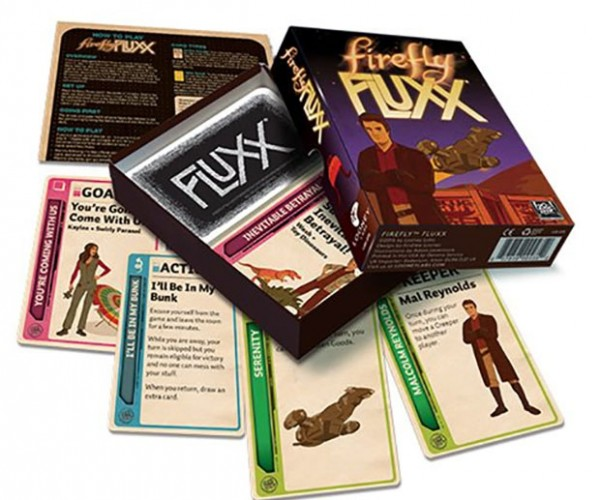 Firefly Fluxx Card Game Lands Next month