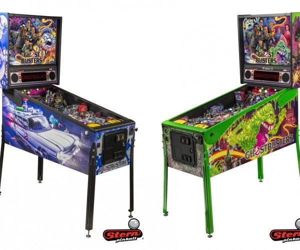 Officially Licensed Ghosbusters Pinball Machines: A Strange Neighborhood
