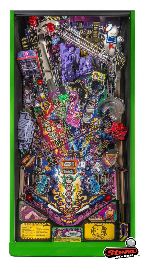 Officially Licensed Ghosbusters Pinball Machines A