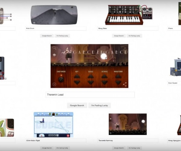 'Somewhere over the Rainbow' Performed with Google Doodles