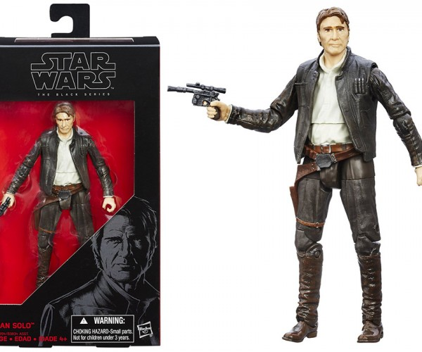 Star Wars Black Series Han Solo Action Figure Just Looks Weird