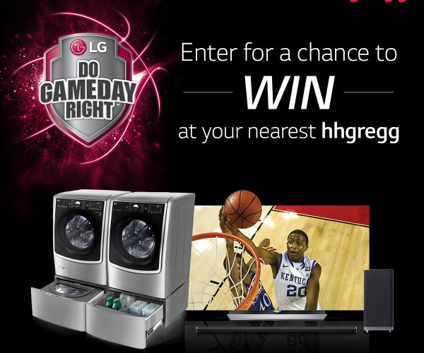 Win Amazing Prizes in the LG + hhgregg Play For Keeps Sweepstakes!