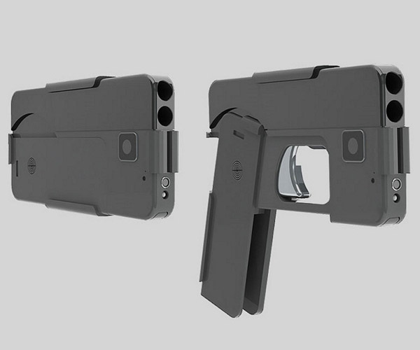 Ideal Conceal Pistol Looks Like a Smartphone When Stowed