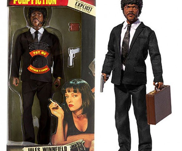 Jules Winnfield Talking Action Figure is a Mushroom Cloud Layin' Motherf**ker