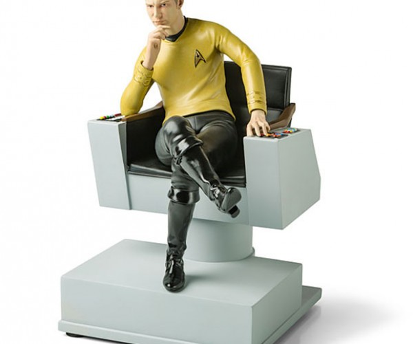 Captain Kirk Bookend: Space Librarian