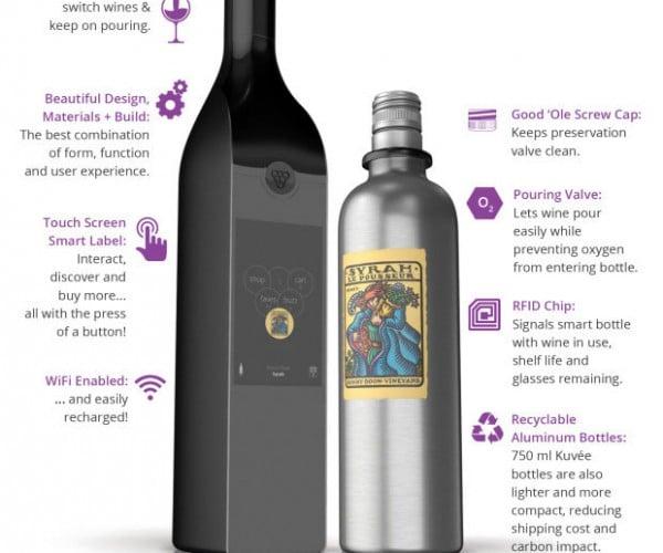 Kuvée Smart Wine Bottle Keeps Wine Fresh for a Month