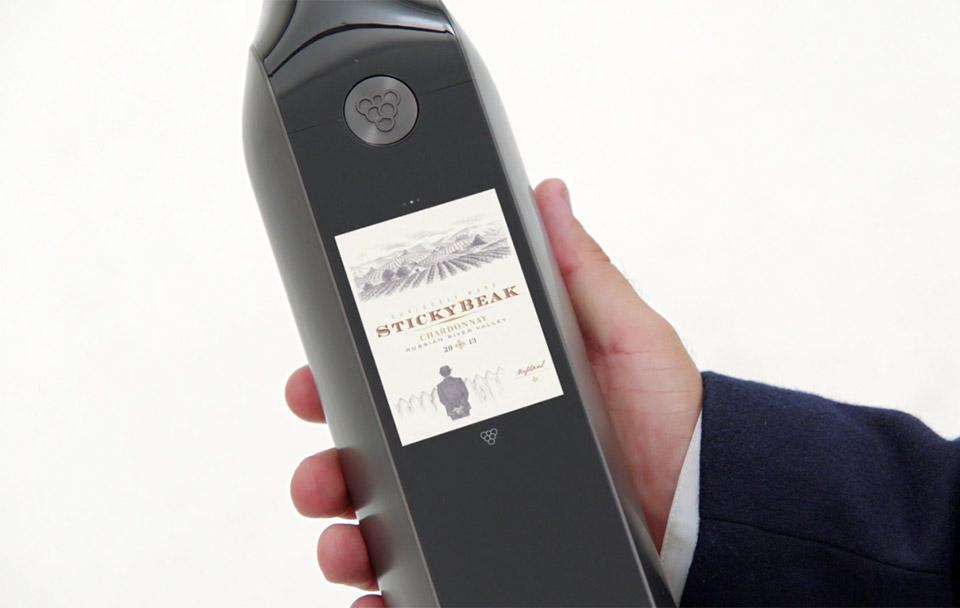 Kuvée Smart Wine Bottle Keeps Wine Fresh for a Month - Technabob