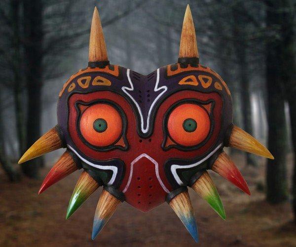 Legend of Zelda: Majora's Mask Life-size Masks Will Transform You into a Cosplayer