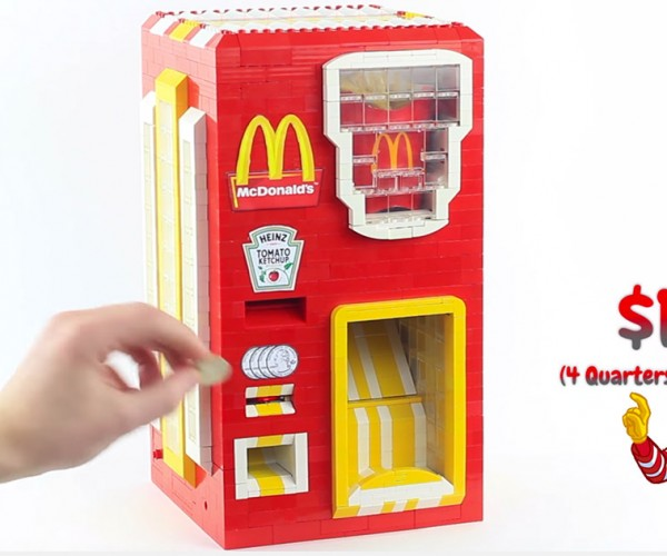 LEGO McDonald's French Fry Vending Machine: I'm Lovin' It!