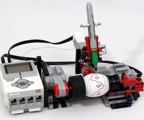 LEGO Mindstorms Egg Decorator: Leggbot