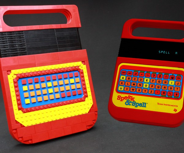 The LEGO Speak & Spell Replica: L… E… G… O…