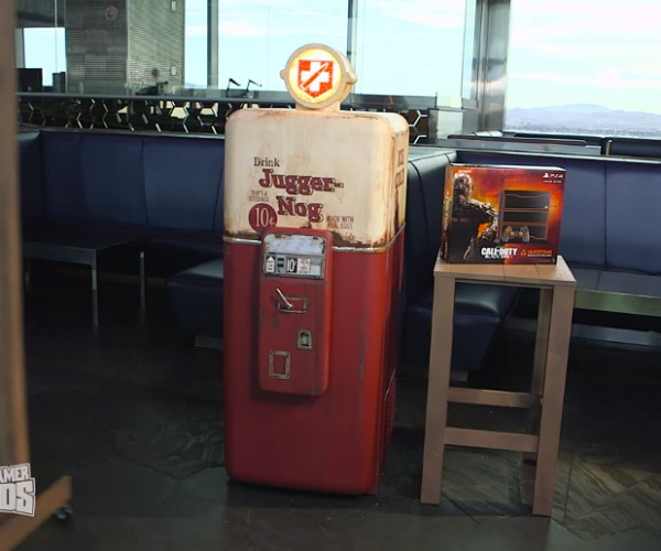 Life-size Juggernog Fridge Replica: Merch-A-Cola