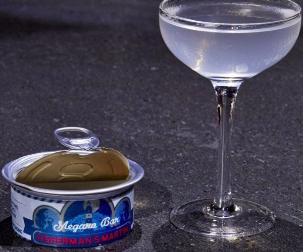 Martini in a Tin Can: You CAN Drink It!