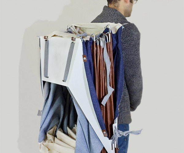 The Portable Shelter You Can Wear on Your Back