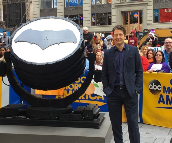 Full-Size LEGO Bat-Signal Actually Works