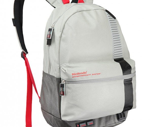 Nintendo Entertainment System Backpack: Now You're Hiking with Power!