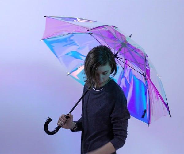 Oombrella Umbrella: Cloud-connected Rain Shield