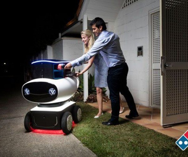 Domino's Has a Pizza Delivery Robot