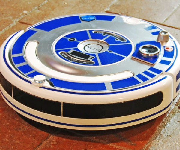Dress Your Roomba like R2-D2: Vacuudroid