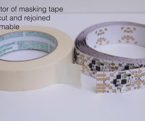 Flexible & Modular Sensor Array: SensorTape