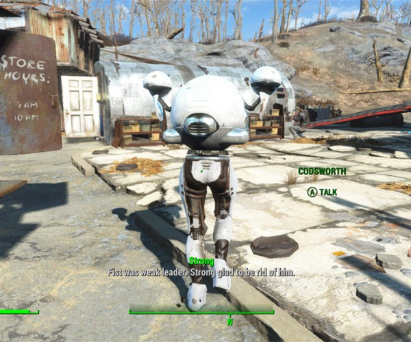Sexy Codsworth Is Too Sexy for Fallout 4