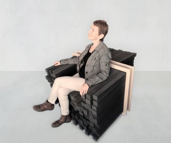 Sink-In to This Ultra-Customizable Chair