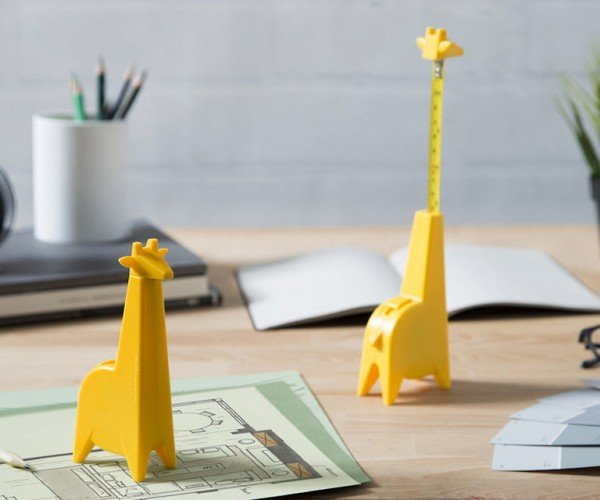 Giraffe Tape Measure Sticks out Its Neck for You