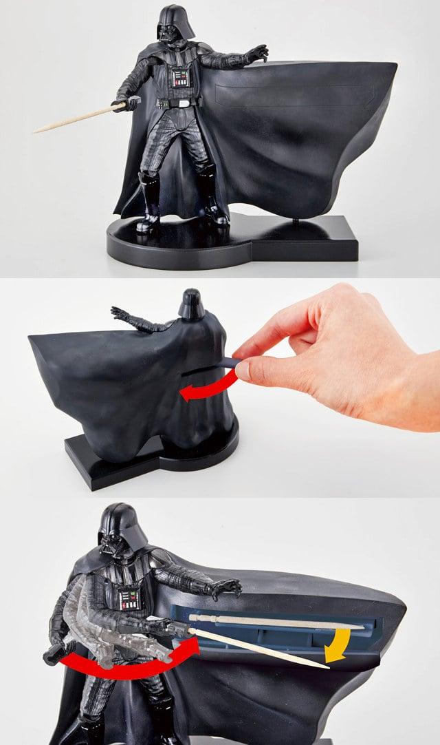 Darth Vader Toothpick Dispenser  Use the Floss 23ff3d891