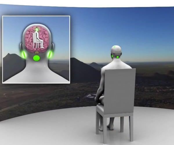 vMocion 3v Tricks Your Brain into Experiencing Motion: Shockulus Rift
