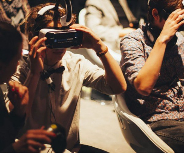 Virtual Reality Movie Theater Opening in Amsterdam