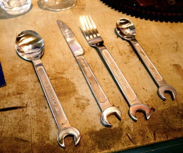 Wrench Cutlery Set Is Perfect for Hungry Man Dinners
