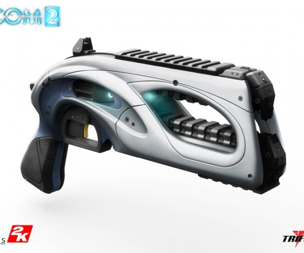 Life-size XCOM 2 Beam Pistol Replica: 100% to Hit Your Wallet
