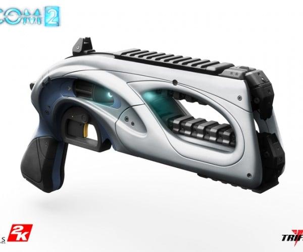 Life-size XCOM 2 Beam Pistol Replica: 100% to Hit Your Wallet