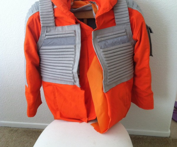 X-Wing Pilot Motorcycle Jacket: Stay on Target
