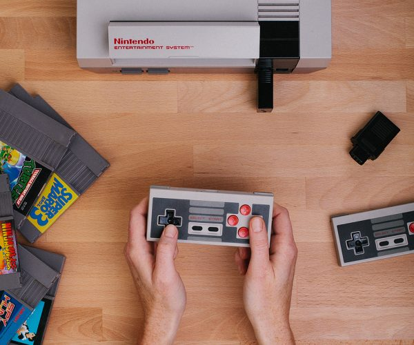 Wireless Controller Dongle for NES: Retro Receiver