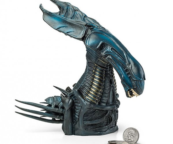 Alien Queen Piggy Bank: In Space, No One Can Hear You Spend