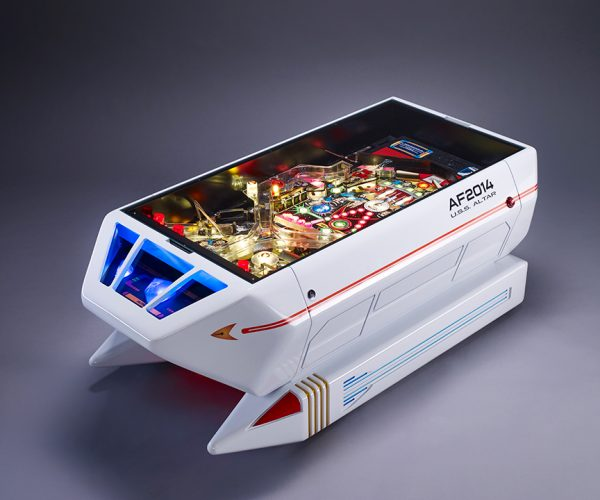 Star Trek Shuttle Pinball Coffee Table: Where All Nouns Have Gone Before