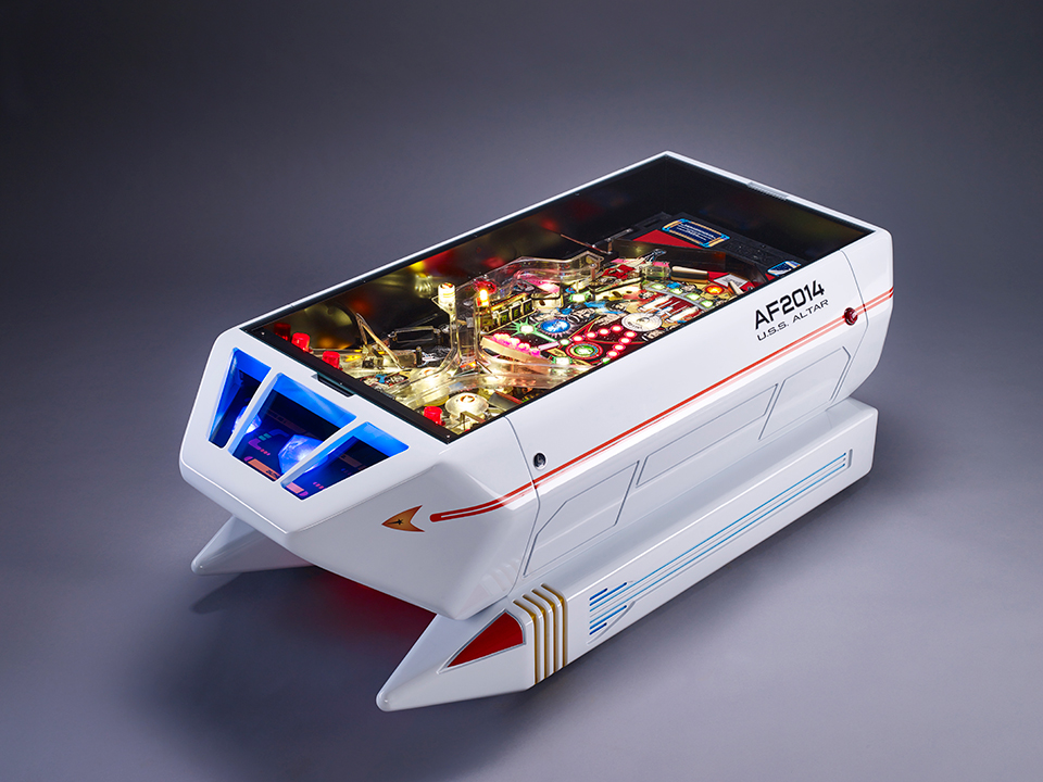 Captivating Altar_star_trek_shuttle_pinball_coffee_table_1 Zoom In. The Beautiful  Shuttle Interactive Coffee Table ...