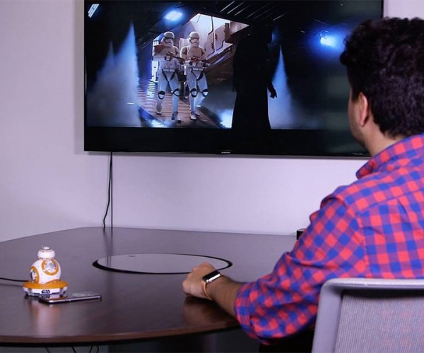 Sphero BB-8 Will Watch The Force Awakens with You