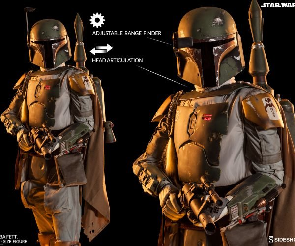 Insane Life-size Boba Fett Action Figure puts a Bounty on your Wallet